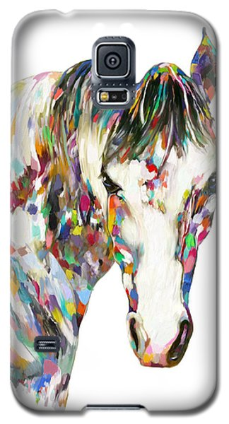 Colorful Horse Galaxy S5 Case