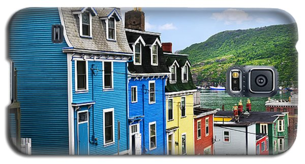 Colorful Houses In St. John's Galaxy S5 Case
