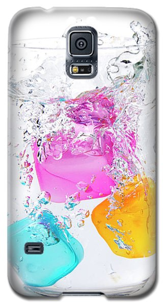 Colorful Ice Galaxy S5 Case