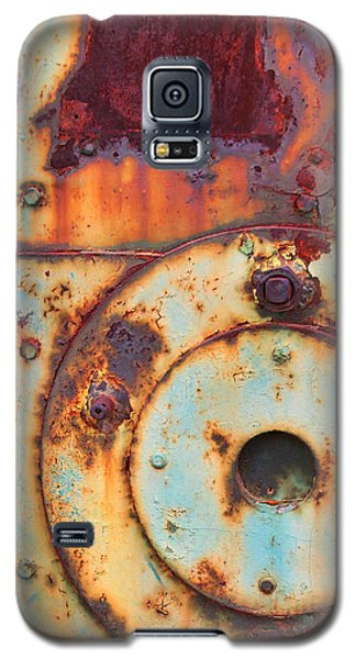 Colorful Industrial Plates Galaxy S5 Case