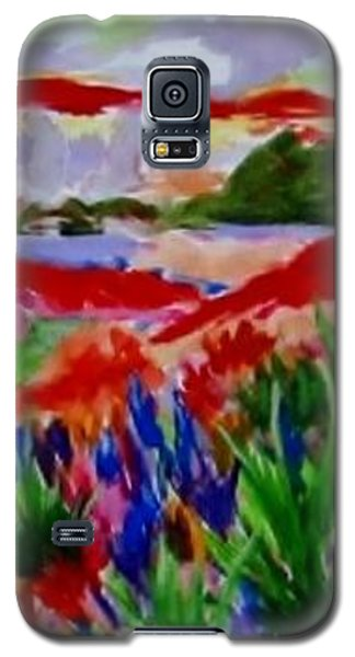 Galaxy S5 Case featuring the painting Colorful by Jamie Frier