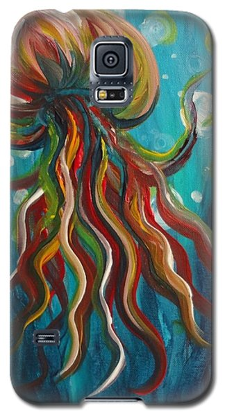 Colorful Jellyfish Galaxy S5 Case