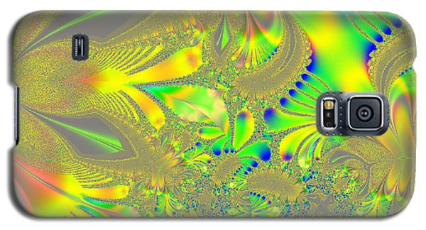 Colorful Jeweled Abstract Galaxy S5 Case by Linda Phelps