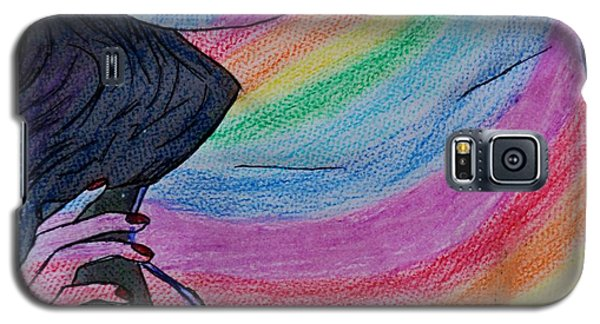 Colorful Lady Galaxy S5 Case