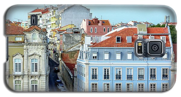 Galaxy S5 Case featuring the photograph Colorful Lisbon by Marion McCristall