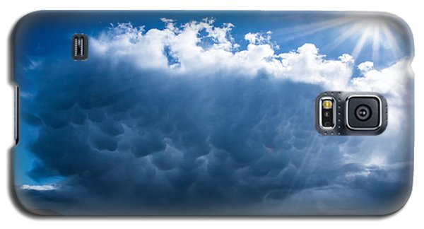 Colorful Mammatus Cloud Galaxy S5 Case by Mick Anderson
