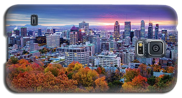 Galaxy S5 Case featuring the photograph Colorful Montreal  by Mircea Costina Photography