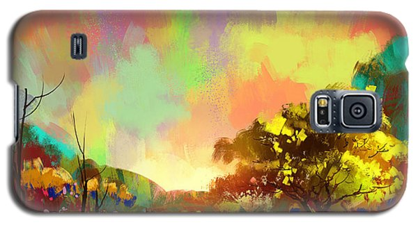 Colorful Natural Galaxy S5 Case