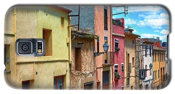 Colorful Old Houses In Tarragona Galaxy S5 Case