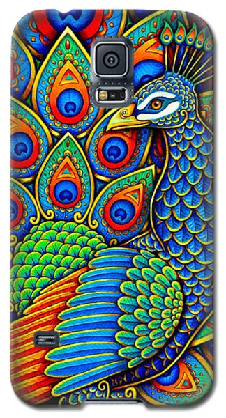 Colorful Paisley Peacock Galaxy S5 Case