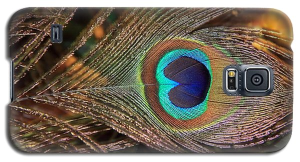 Colorful Peacock Feather Galaxy S5 Case