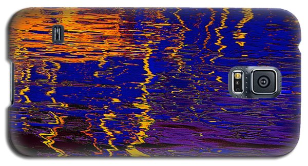 Colorful Ripple Effect Galaxy S5 Case
