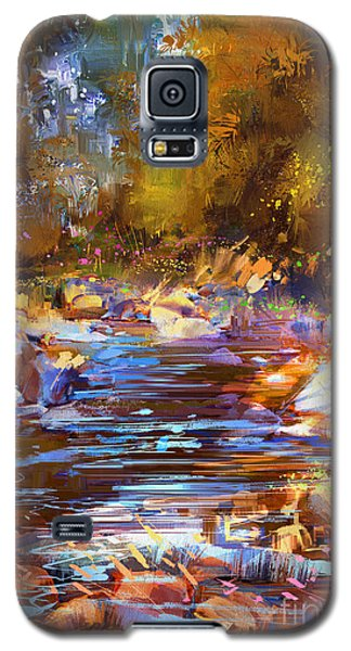 Colorful River Galaxy S5 Case