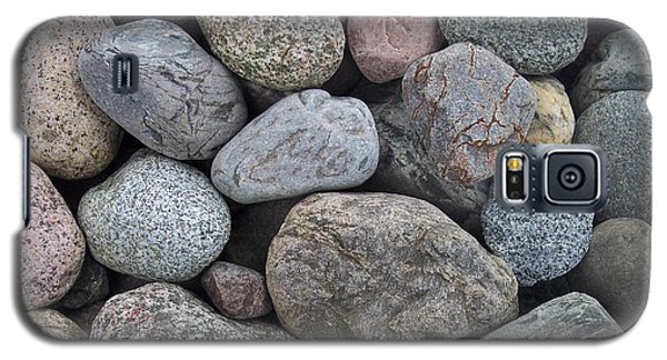 Galaxy S5 Case featuring the photograph Colorful Rocks by Richard Bryce and Family