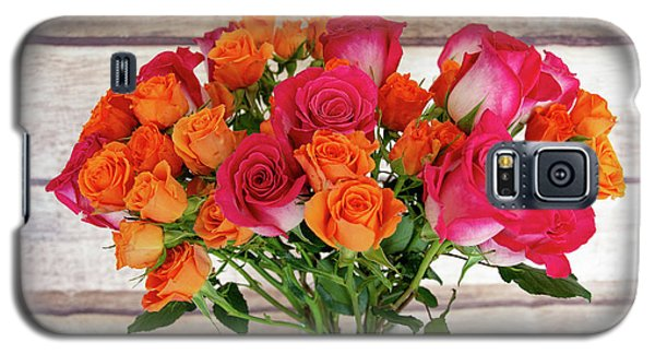 Colorful Rose Bouquet Galaxy S5 Case