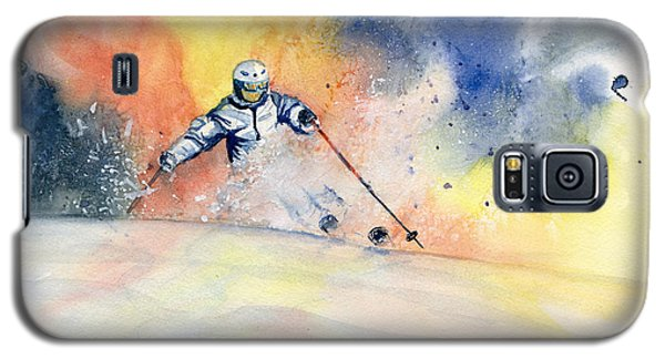 Colorful Skiing Art 2 Galaxy S5 Case
