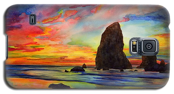 Card Galaxy S5 Case - Colorful Solitude by Hailey E Herrera