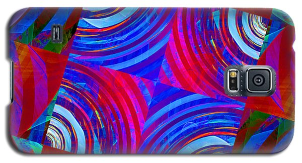 Colorful Squares Galaxy S5 Case