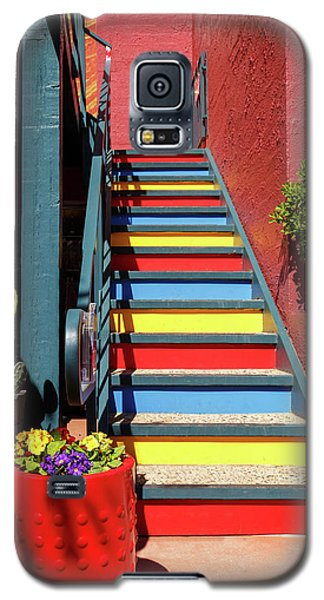 Colorful Stairs Galaxy S5 Case by James Eddy