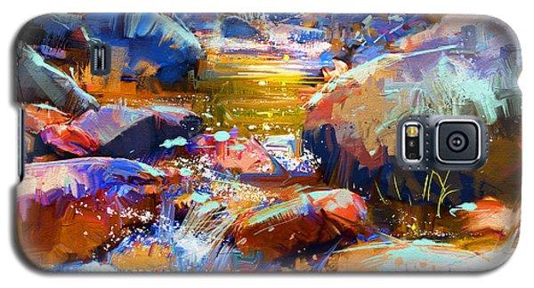 Colorful Stones Galaxy S5 Case