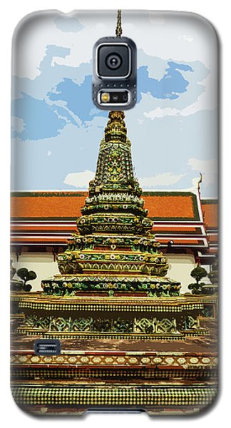 Colorful Stupas At Wat Pho Galaxy S5 Case