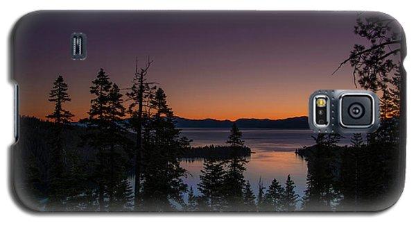 Colorful Sunrise In Emerald Bay Galaxy S5 Case