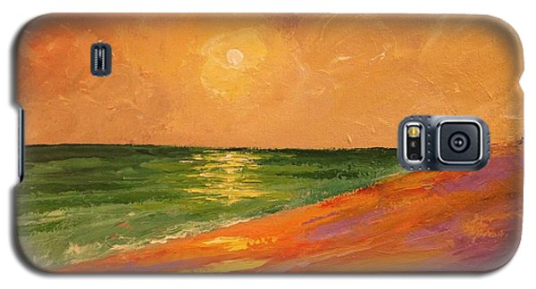 Colorful Sunset Galaxy S5 Case