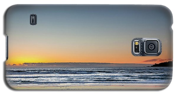 Colorful Sunset Over A Desserted Beach Galaxy S5 Case