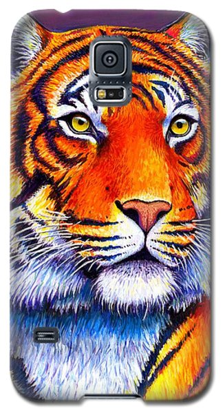 Fiery Beauty - Colorful Bengal Tiger Galaxy S5 Case