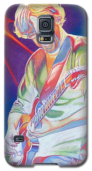 Colorful Trey Anastasio Galaxy S5 Case by Joshua Morton