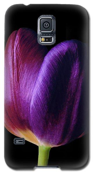 Colorful Tulip Macro Galaxy S5 Case