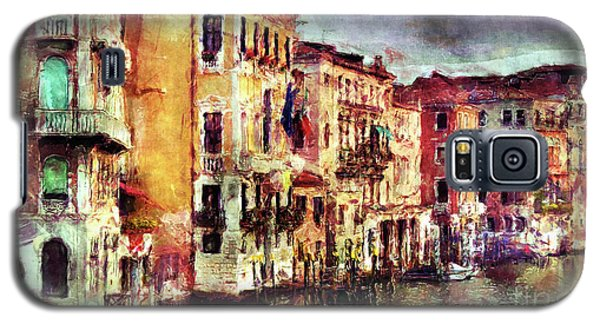 Colorful Venice Canal Galaxy S5 Case