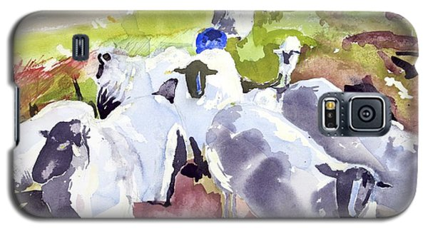 Colorful Waiting Sheep Galaxy S5 Case