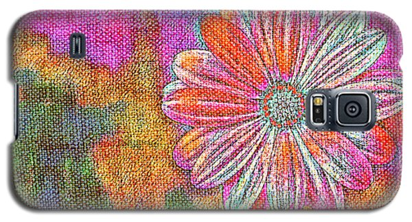 Colorful Watercolor Flower Galaxy S5 Case