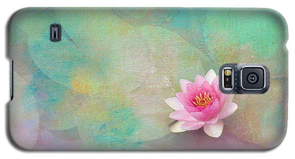 Colorful Waterlily Galaxy S5 Case by Carolyn Dalessandro