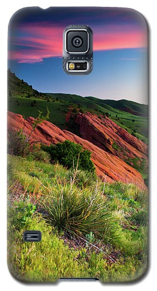 Galaxy S5 Case featuring the photograph Colors Of A Colorado Spring Sunrise by John De Bord