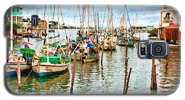 Colors Of Belize - Digital Paint Galaxy S5 Case