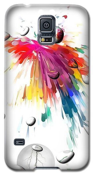 Colors Of Explosions By Nico Bielow Galaxy S5 Case