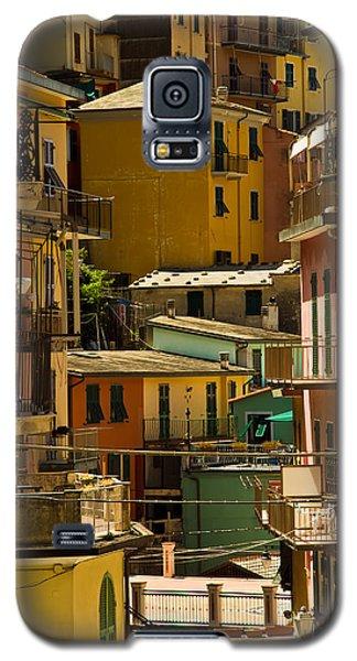 Colors Of Manarola Italy Galaxy S5 Case