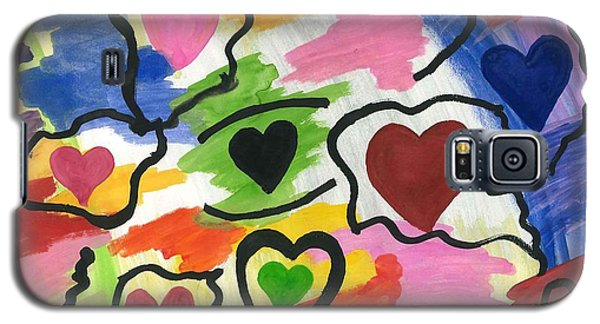 Colors Of The Heart Galaxy S5 Case