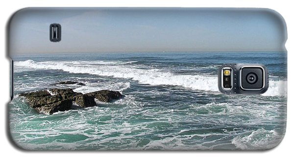Galaxy S5 Case featuring the photograph Colors Of The Sea by Carol  Bradley