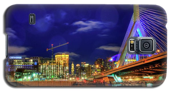 Galaxy S5 Case featuring the photograph Colors Of The Zakim Bridge - Boston, Ma by Joann Vitali