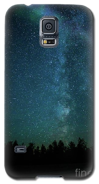 Colors Over The Milky Way Galaxy S5 Case