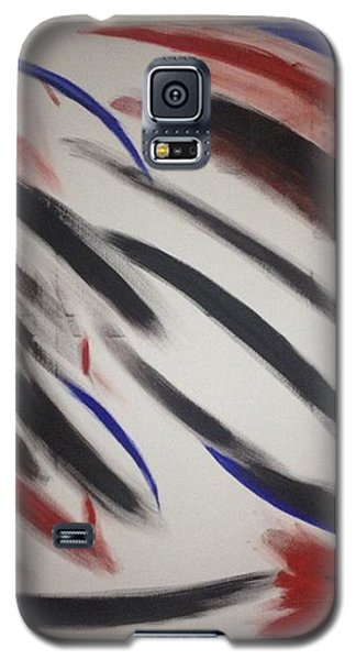 Galaxy S5 Case featuring the painting Abstract Colors by Sheila Mcdonald