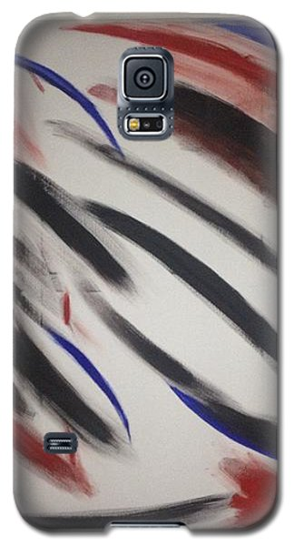 Abstract Colors Galaxy S5 Case by Sheila Mcdonald