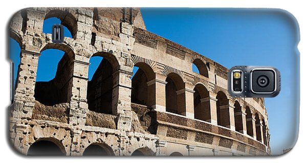 Galaxy S5 Case featuring the photograph Colosseum - Old And New by Ed Cilley