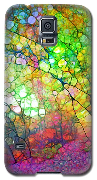 Colour Combustion Galaxy S5 Case