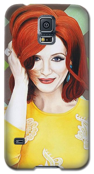 Galaxy S5 Case featuring the painting Colour Inspired Beauty by Malinda Prudhomme
