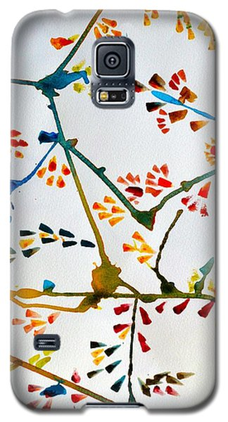 Colourful Blossoms Galaxy S5 Case by Sonali Gangane