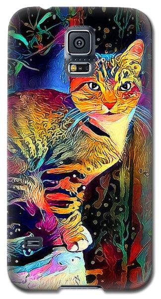 Colourful Calico Galaxy S5 Case